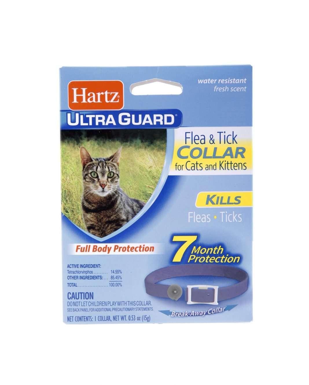 hartz ultraguard flea tick collar for cats and kittens