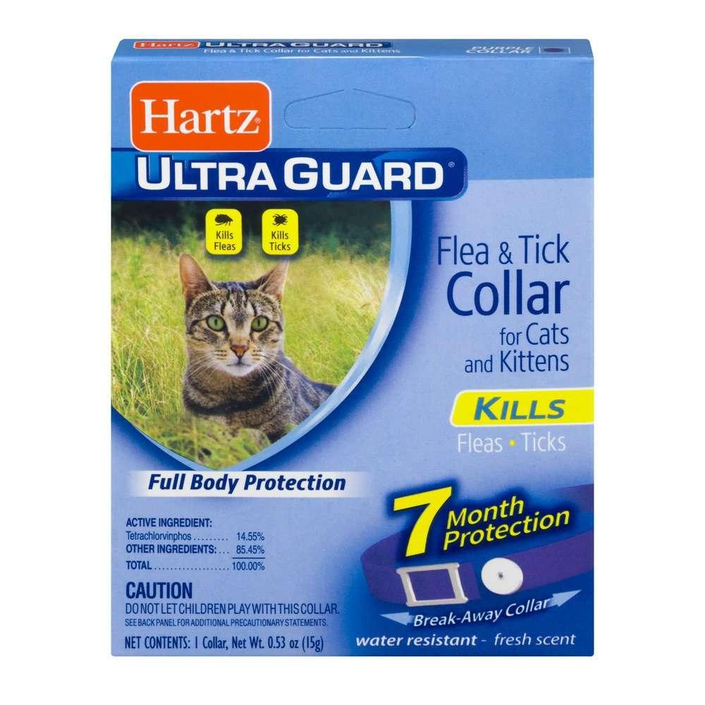 Hartz UltraGuard Flea &  Tick Collar for Cats &  Kittens, 7 ...