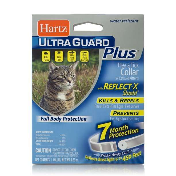 Hartz UltraGuard Plus Flea &  Tick Collar with Reflect X ...